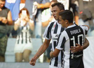 Paulo Dybala e Mario Mandzukic Juventus (Getty Images)