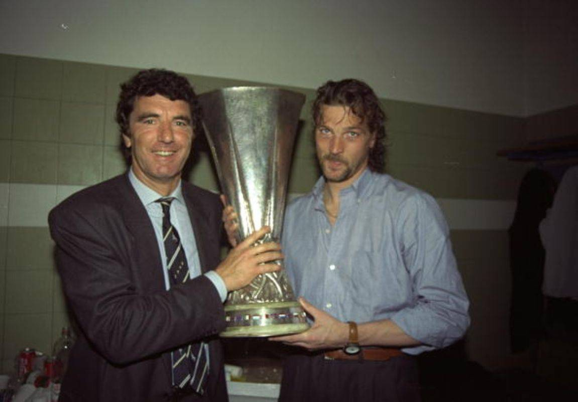 Stefano Tacconi insieme a Dino Zoff Juventus (Getty Images)