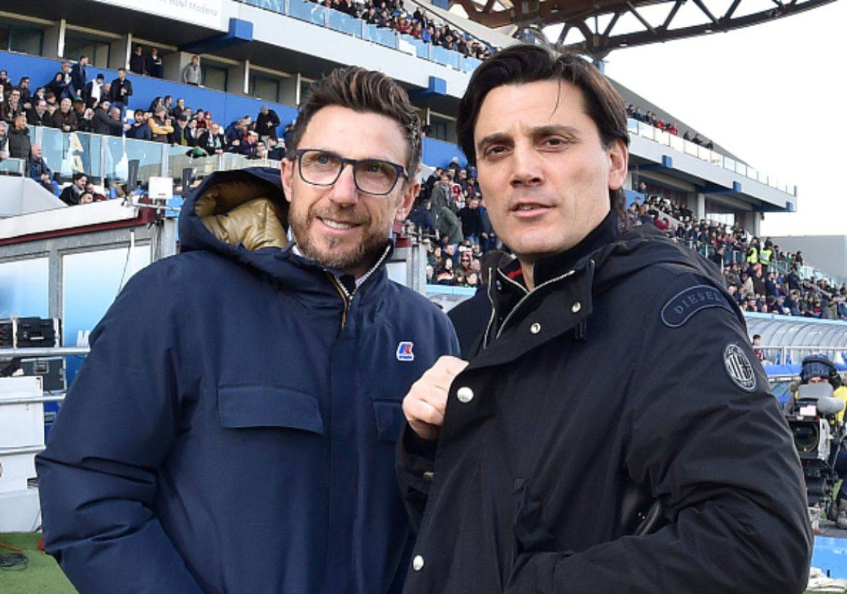 Eusebio Di Francesco e Vincenzo Montella (Getty Images)