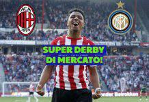 Milan-Inter, super derby di mercato per Malen