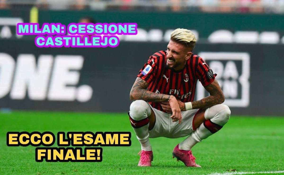 Milan: cessione Castillejo, ecco l'esame finale