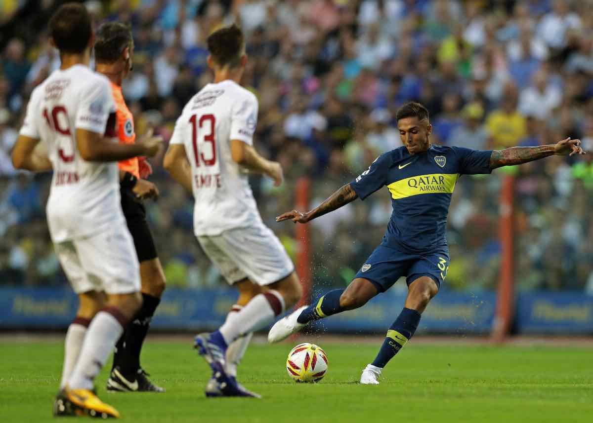 calciomercato Roma Almendra Napoli Boca Juniors
