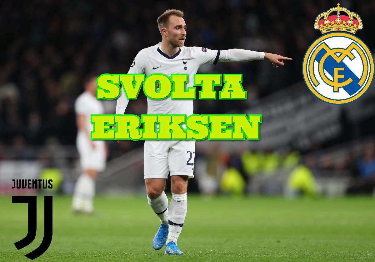Juventus Eriksen Real Madrid
