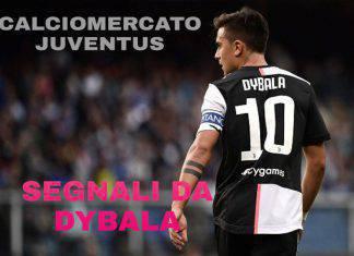Calciomercato Juventus, segnali da Dybala