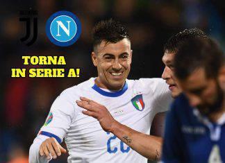 El Shaarawy Juventus Napoli