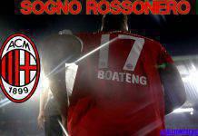 Calciomercato Milan Boateng