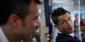 Jorge Mendes con Cristiano Ronaldo (Getty Images)