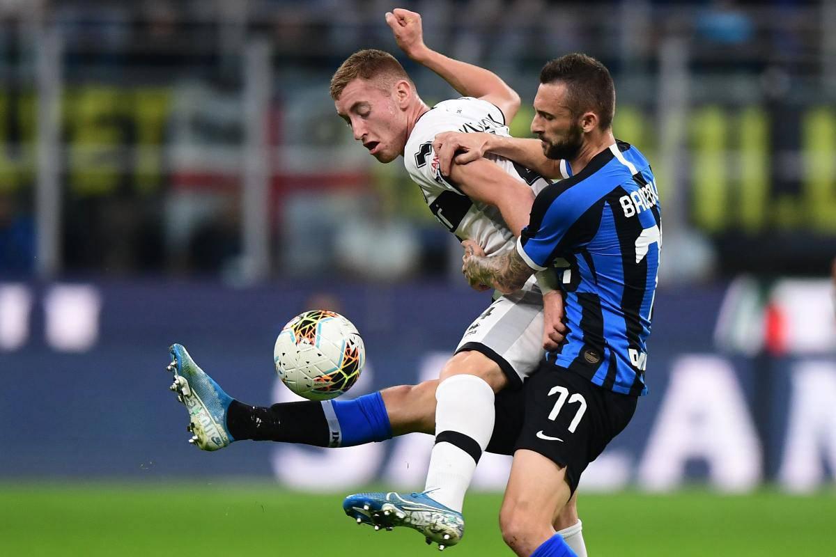 Kulusevski Inter Parma