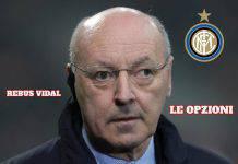 Inter, rebus Vidal: le opzioni di Marotta