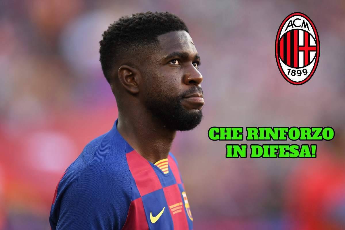 Milan, Umtiti sogno in difesa