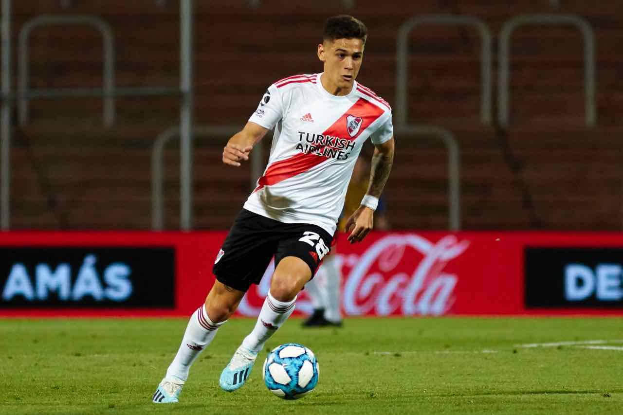 Calciomercato Inter  Martinez Quarta River Plate