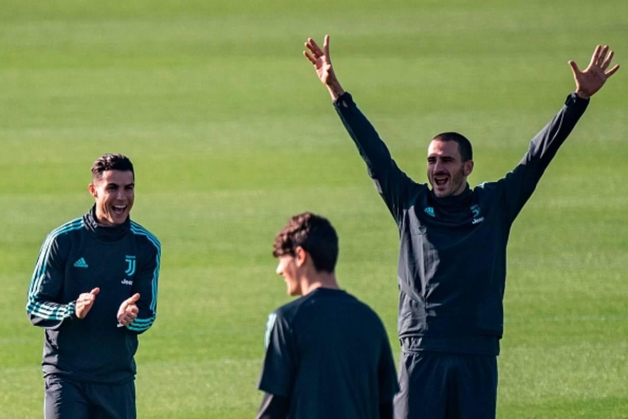 Cristiano Ronaldo Leonardo Bonucci Juventus (Getty Images)