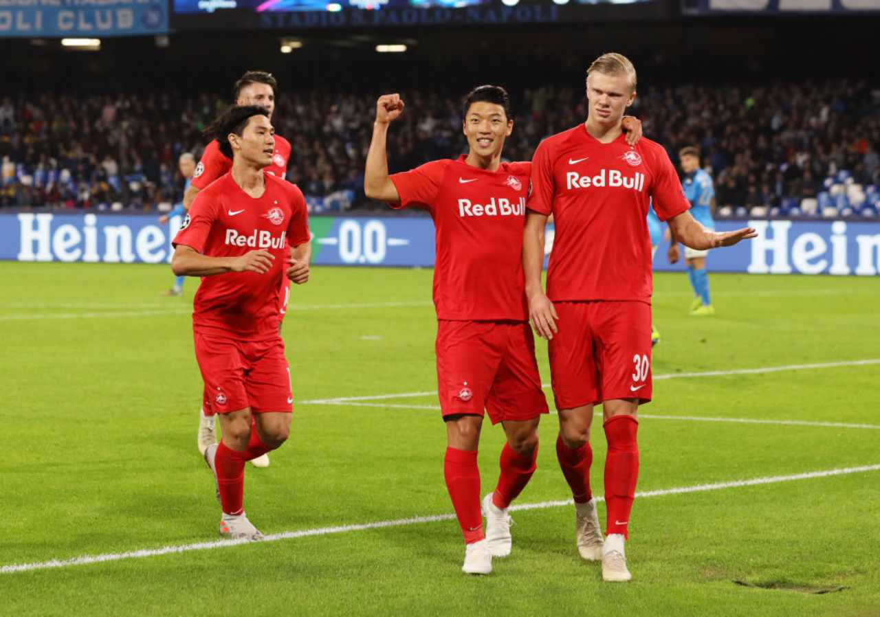 Calciomercato Juventus, Haaland entra e segna: sarà asta in estate