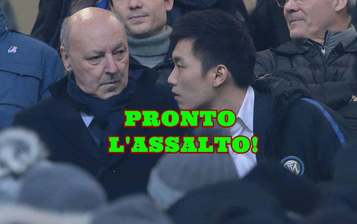 Marotta Zhang Inter Milinkovic-Savic
