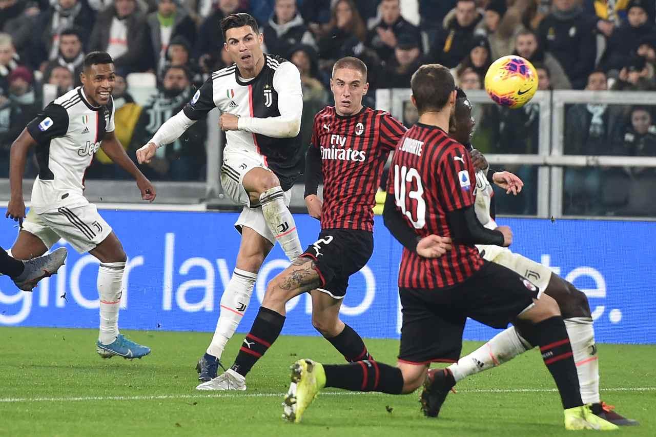 Ronaldo-Sarri (Getty Images)