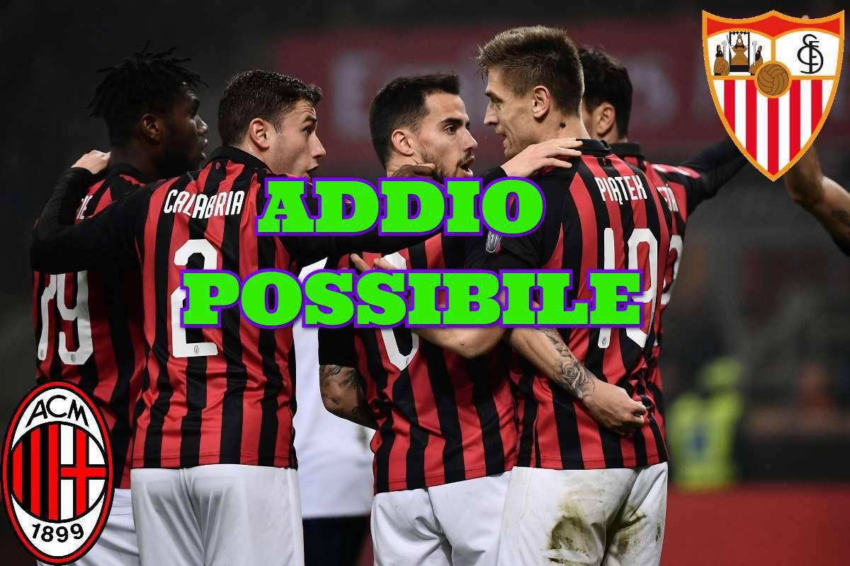 Calciomercato Milan Calabria Siviglia