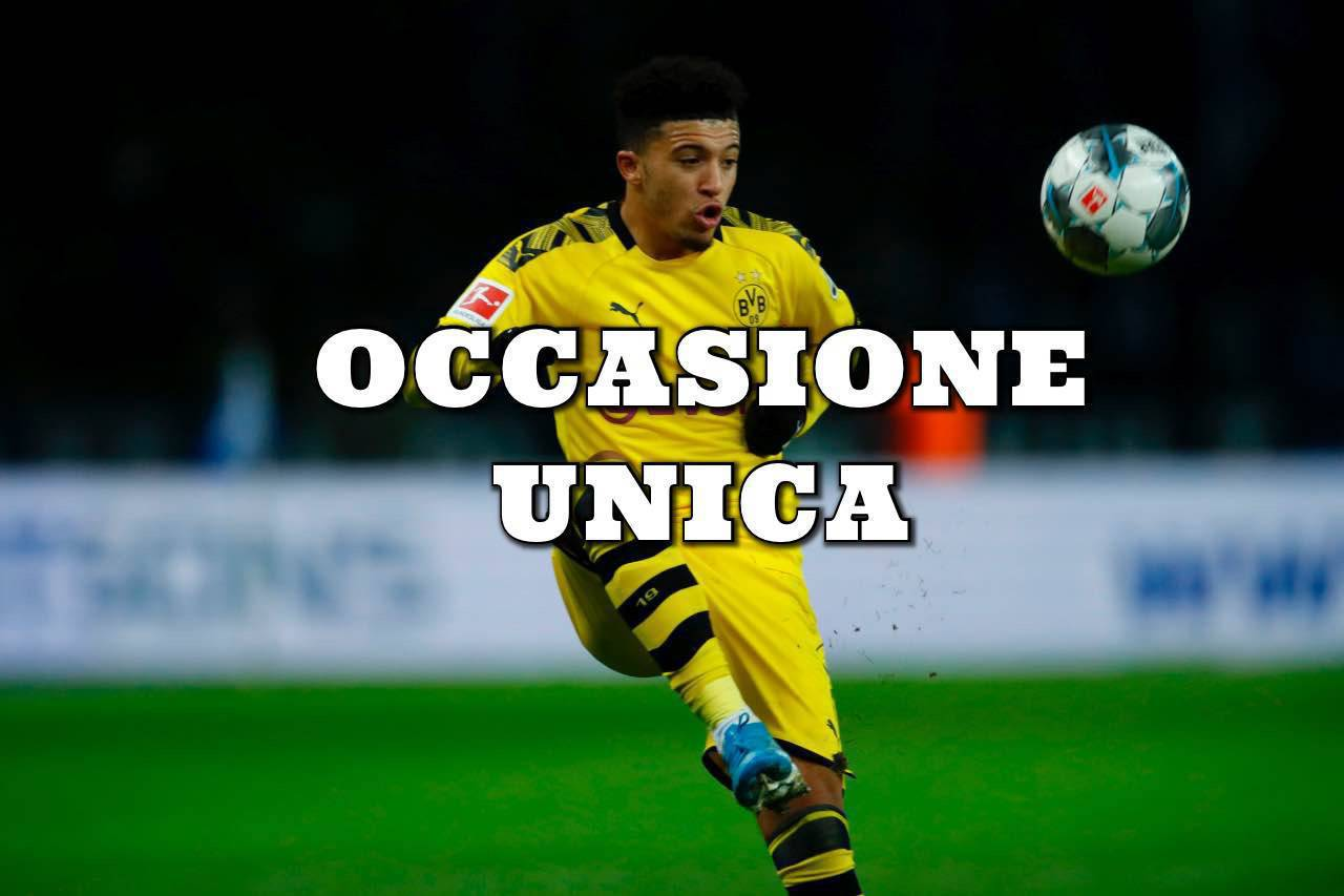 Calciomercato Juventus Sancho Borussia Dortmund