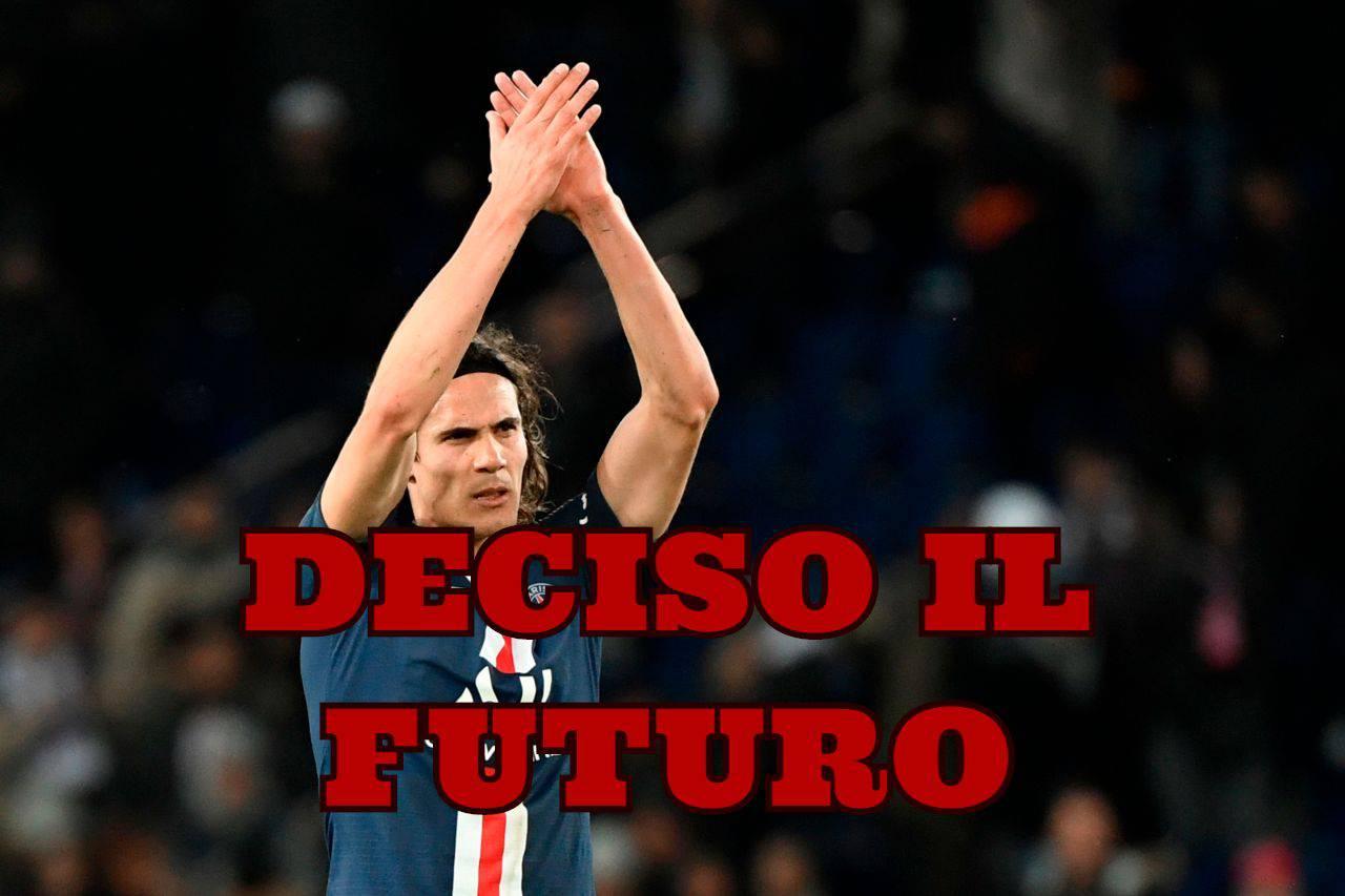 Calciomercato Milan, sfuma Cavani: nel suo futuro l'Atletico Madrid