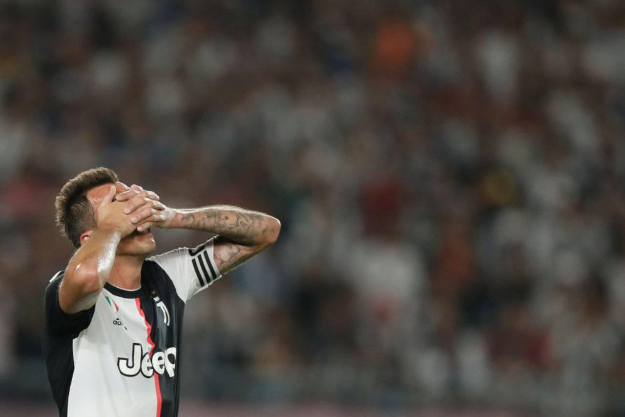 Mario Mandzukic Juventus Qatar