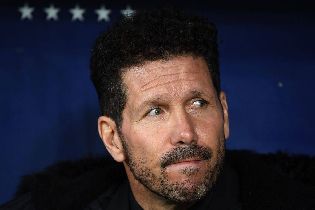 Simeone Burgos Atletico Madrid
