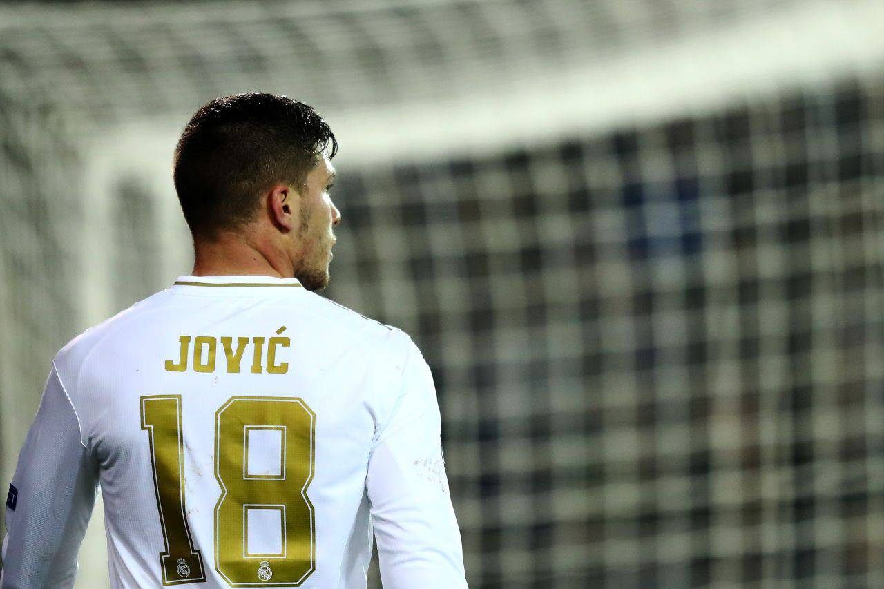 Calciomercato Milan Jovic Real Madrid Ibrahimovic