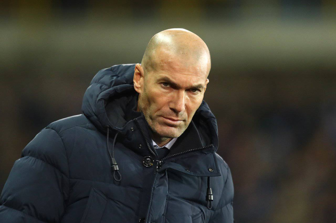 Calciomercato Juventus Real Madrid Zidane