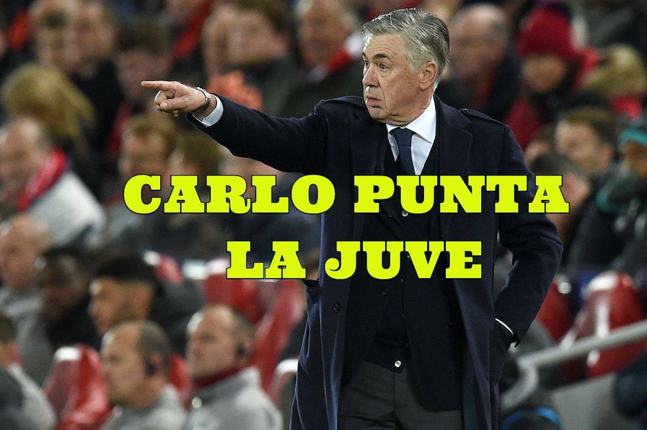 Calciomercato Juventus Ancelotti