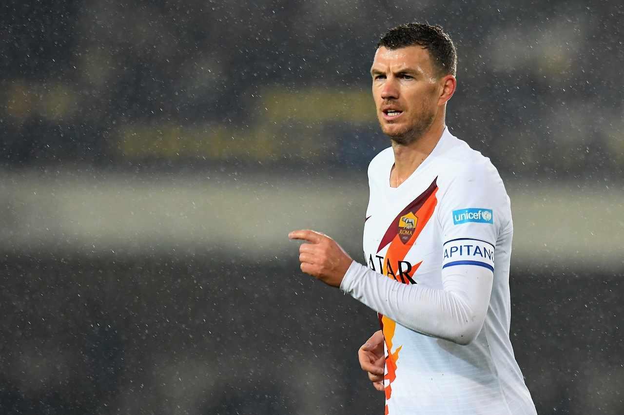 Calciomercato Roma corsa a due per il vice Dzeko in Serie A