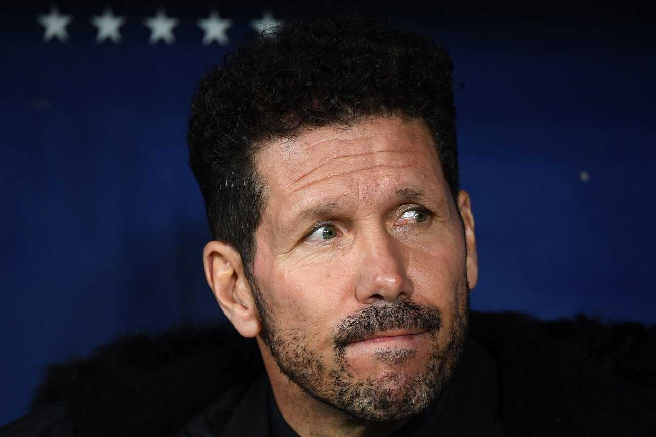 Simeone Atletico Madrid Inter Zapata