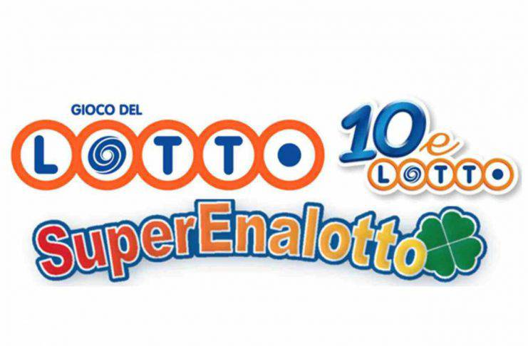 jackpot SuperEnalotto, Lotto, 10eLotto