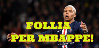calciomercato juventus mbappe ronaldo real perez zidane vinicius psg