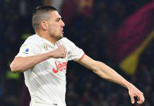 Juventus infortunio Demiral crociato