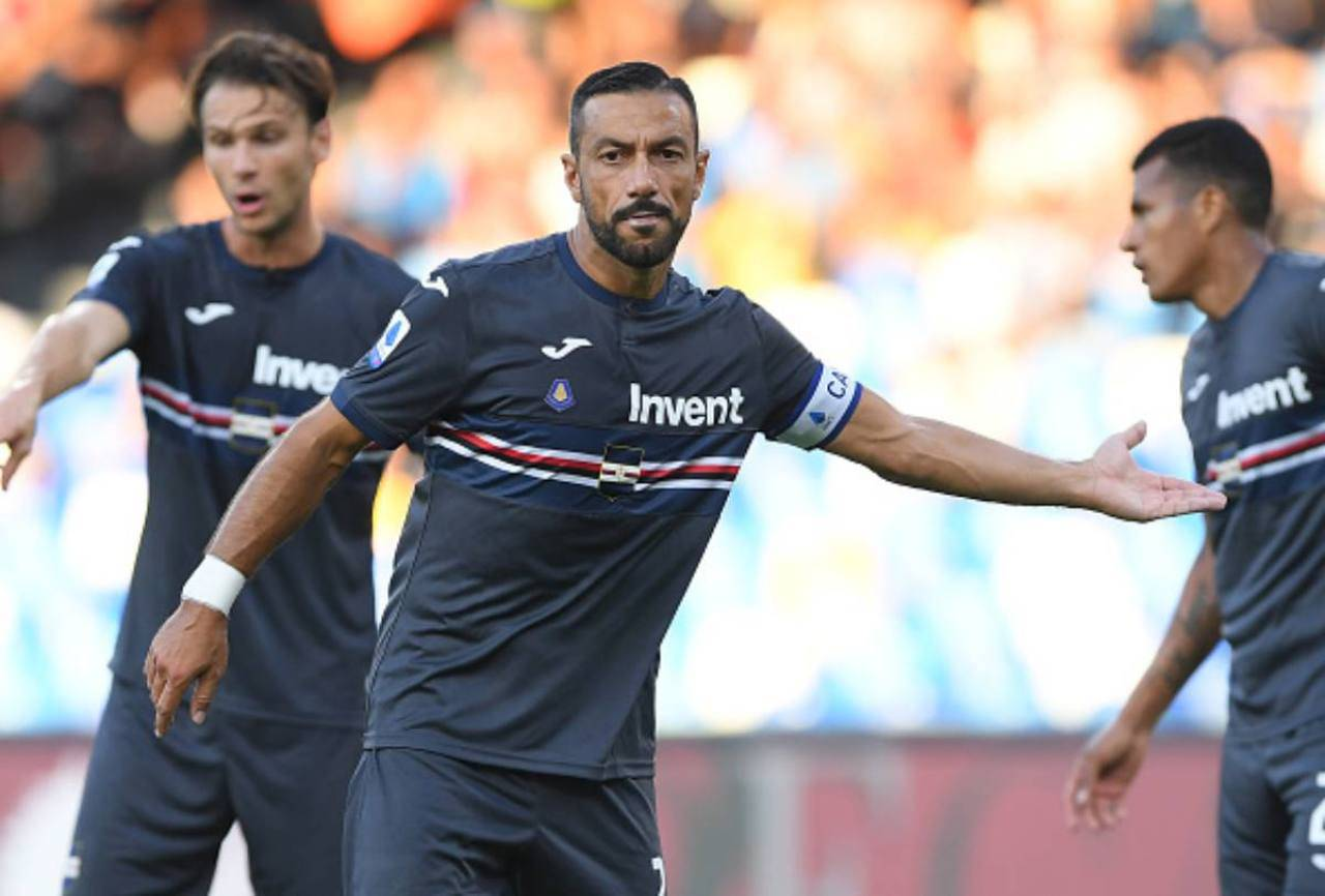 quagliarella getty images sampdoria