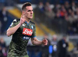 Calciomercato Juventus Milik Napoli