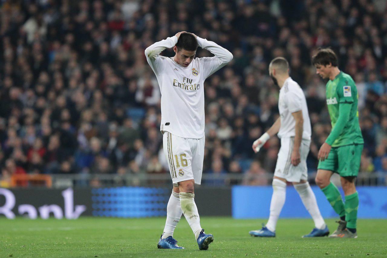James Rodriguez Juventus Real Madrid