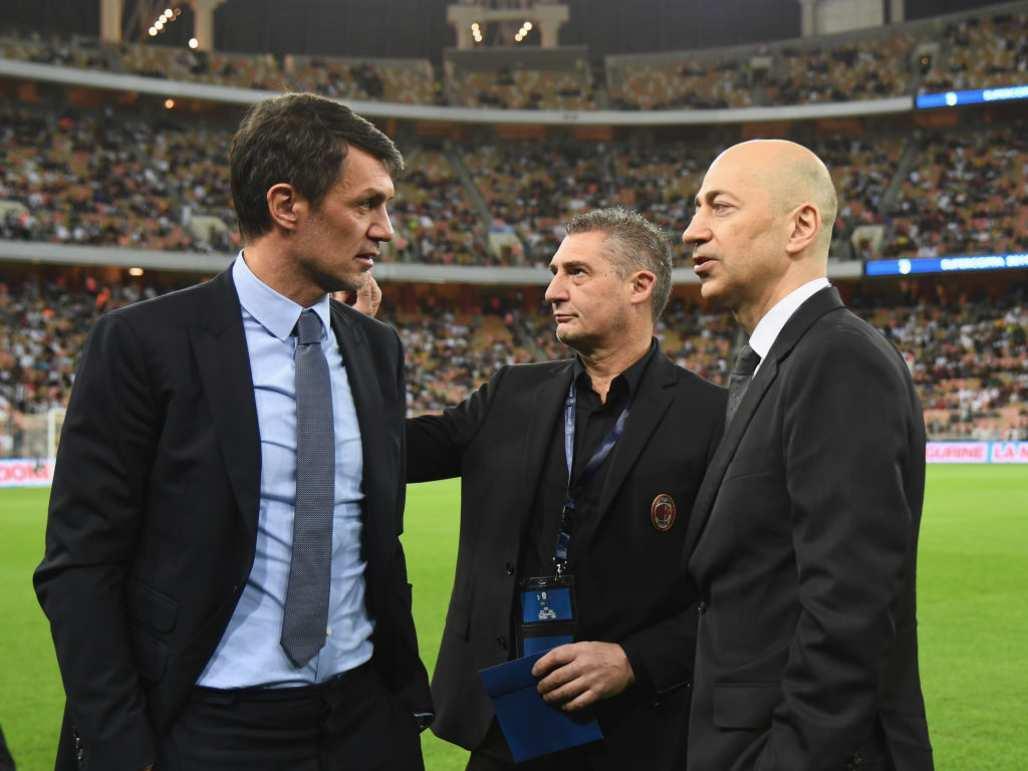 Calciomercato Milan Maldini Gazidis