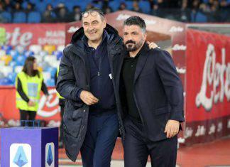 Juventus Napoli formazioni ufficiali