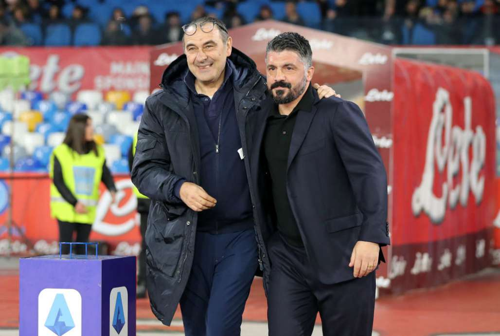 Napoli Sarri Gattuso