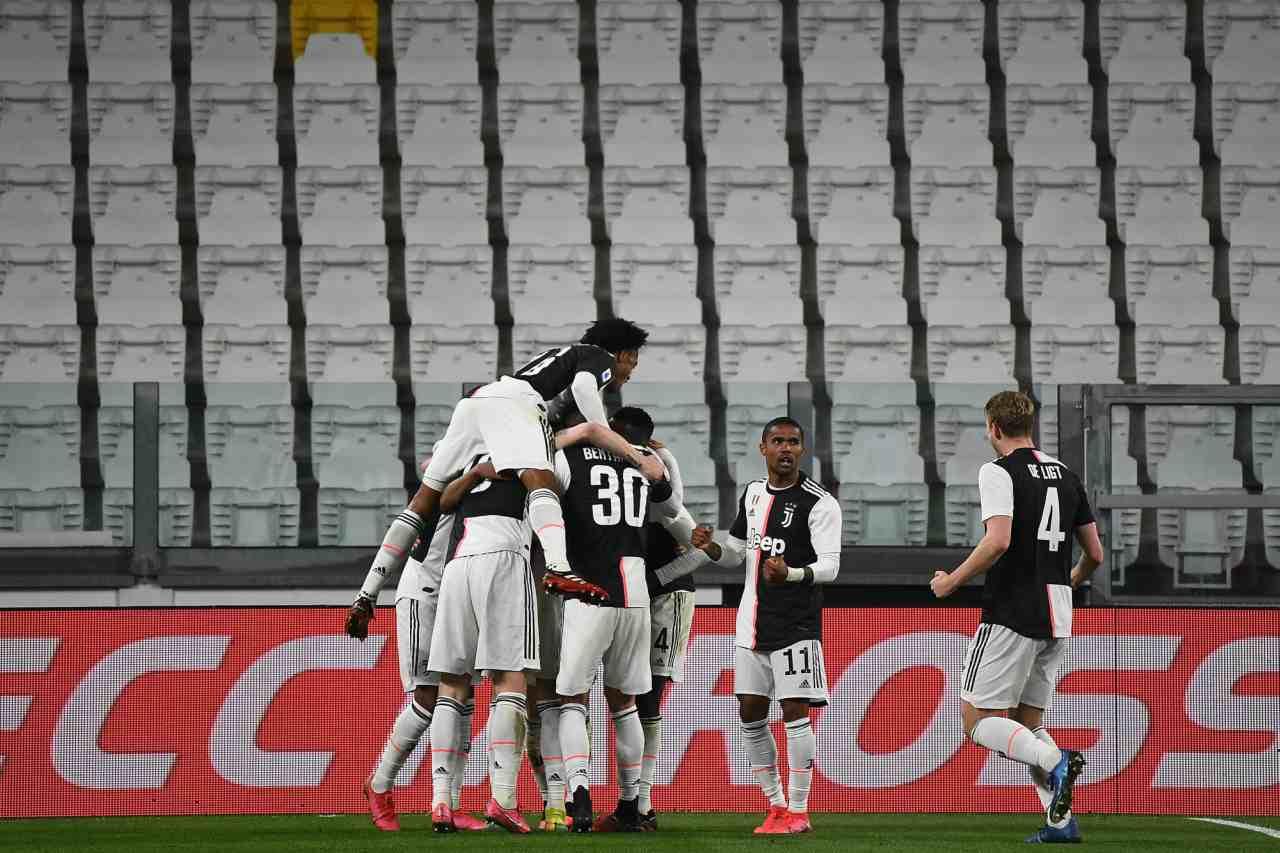 Juventus Inter Serie A coronavirus Douglas Costa