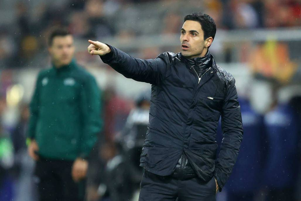 Arteta Arsenal Premier League Martinelli