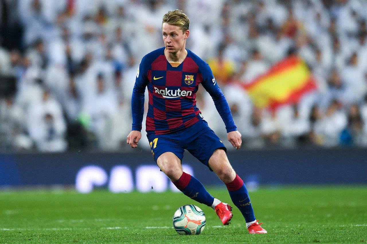 Barcellona De Jong JUVENTUS