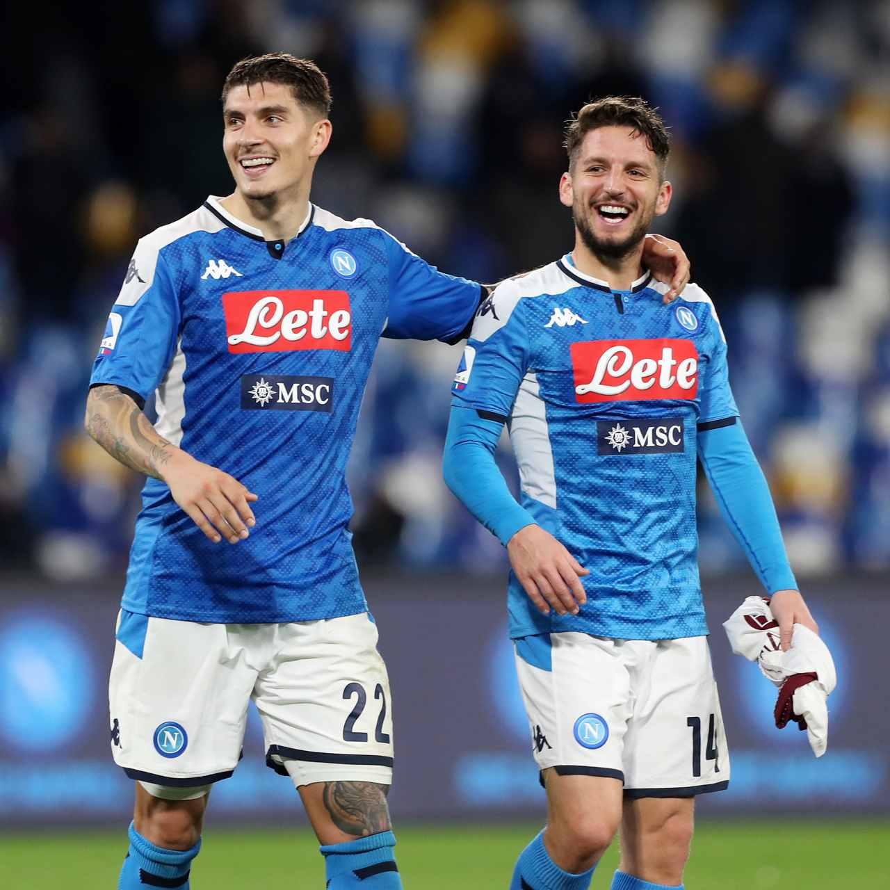 Calciomercato Napoli Mertens rinnovo