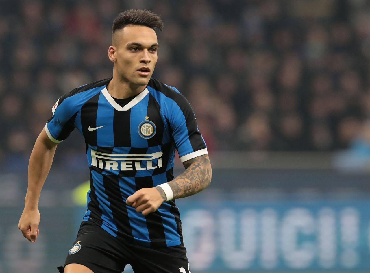 Lautaro Real madrid Barcellona