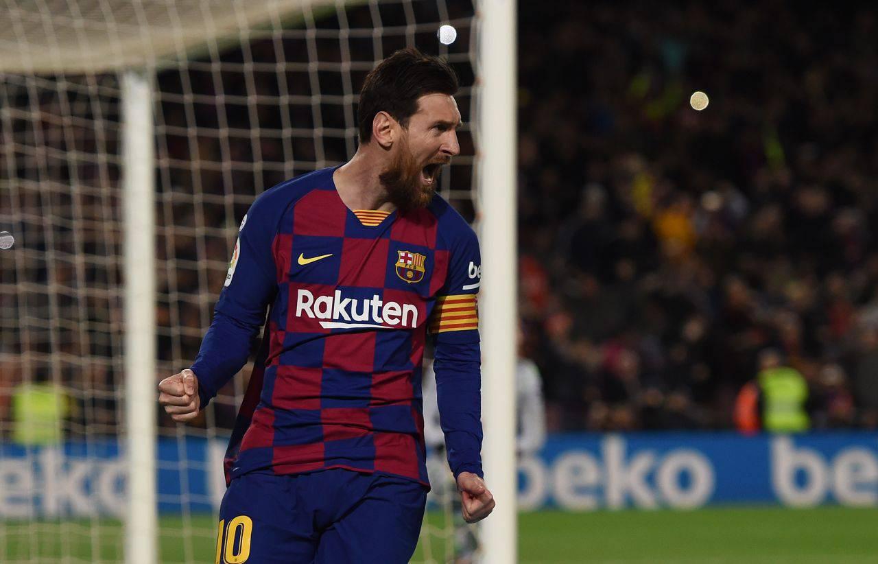 Juventus Inter Messi