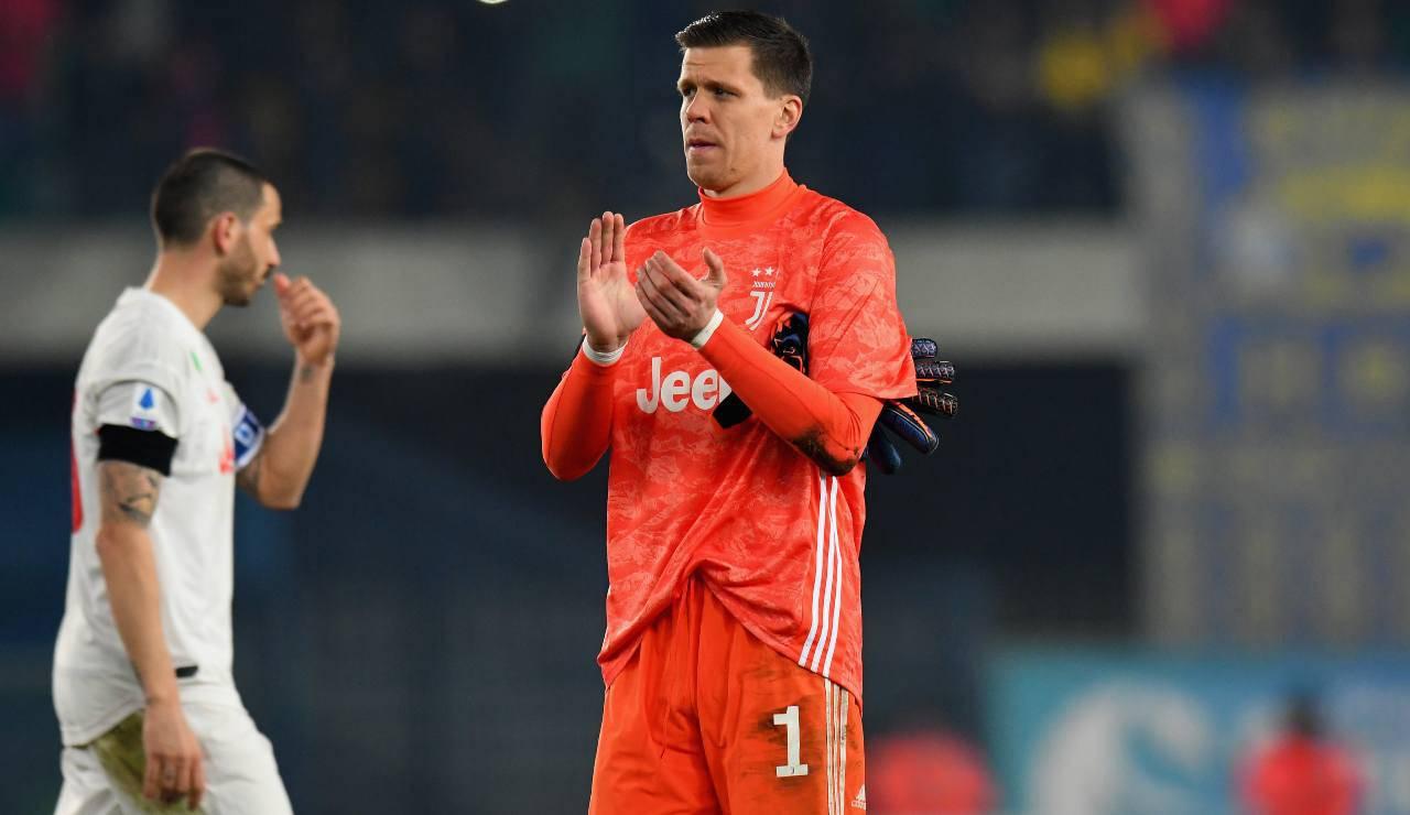 Juventus Szczesny Kepa