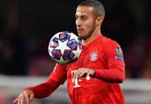 Juventus, sfuma Thiago Alcantara rinnovo Bayern Monaco