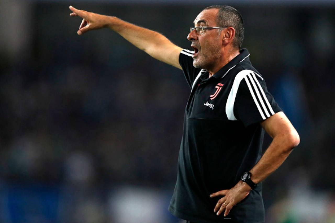 Juventus formazioni ufficiali Sarri