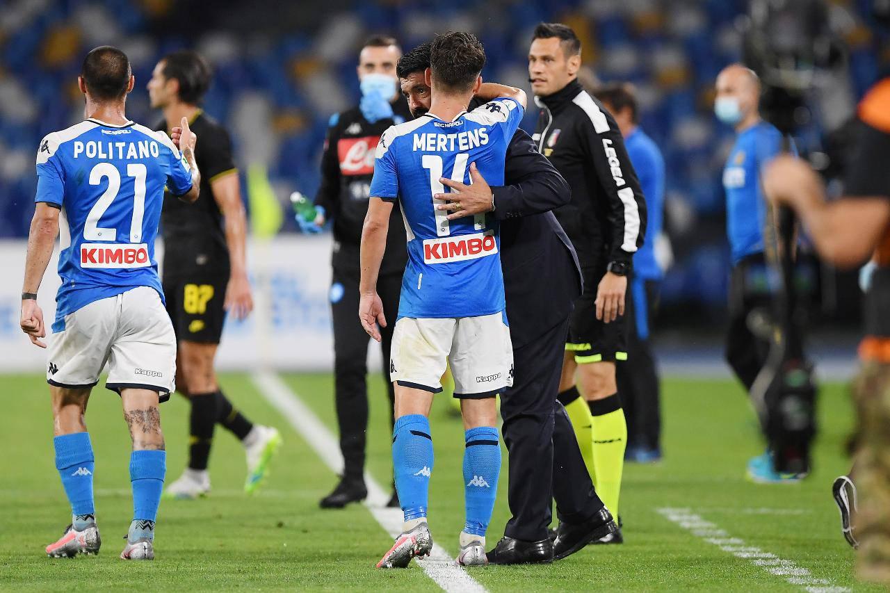 Mertens Napoli Juventus