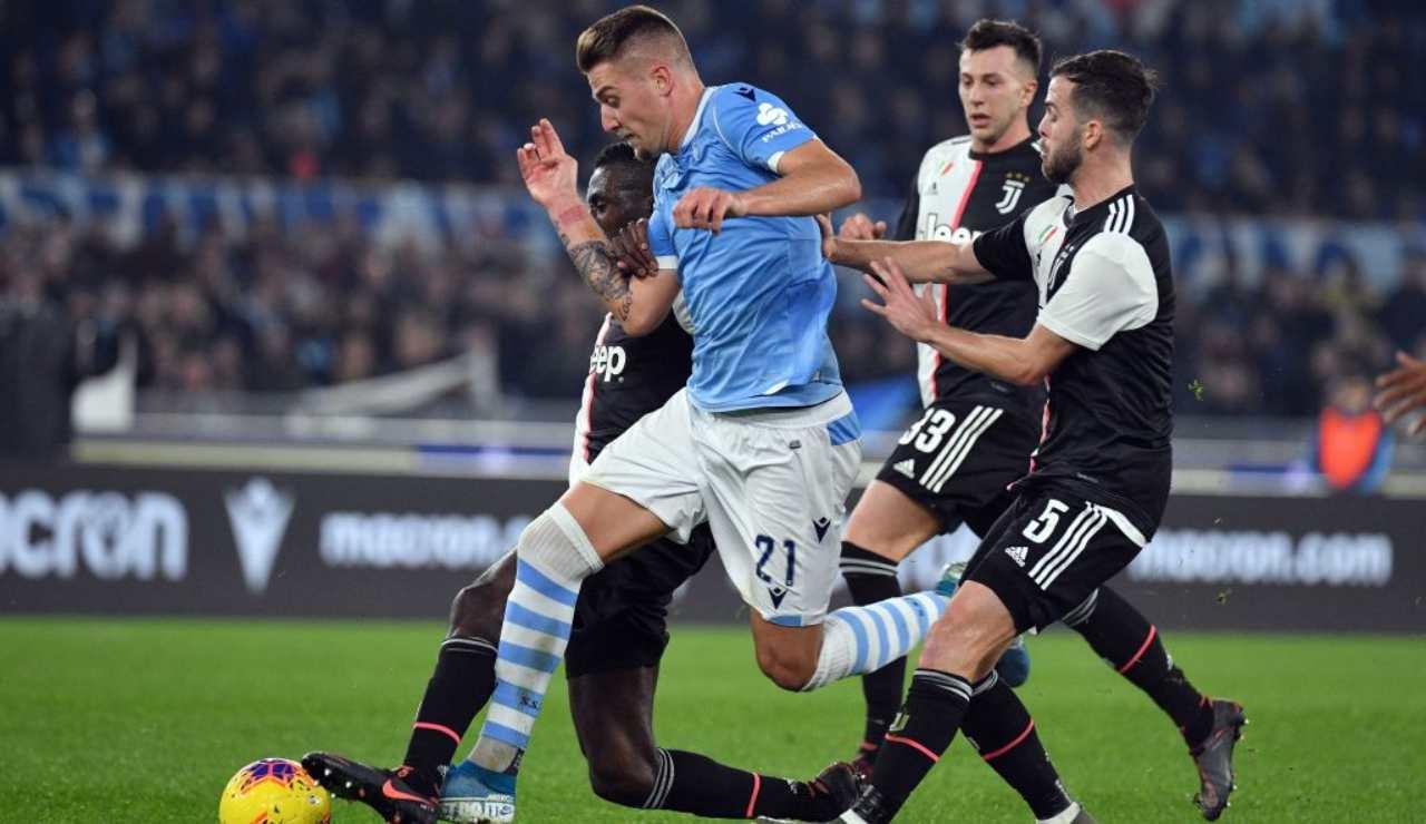 Lazio milinkovic Savic Juventus