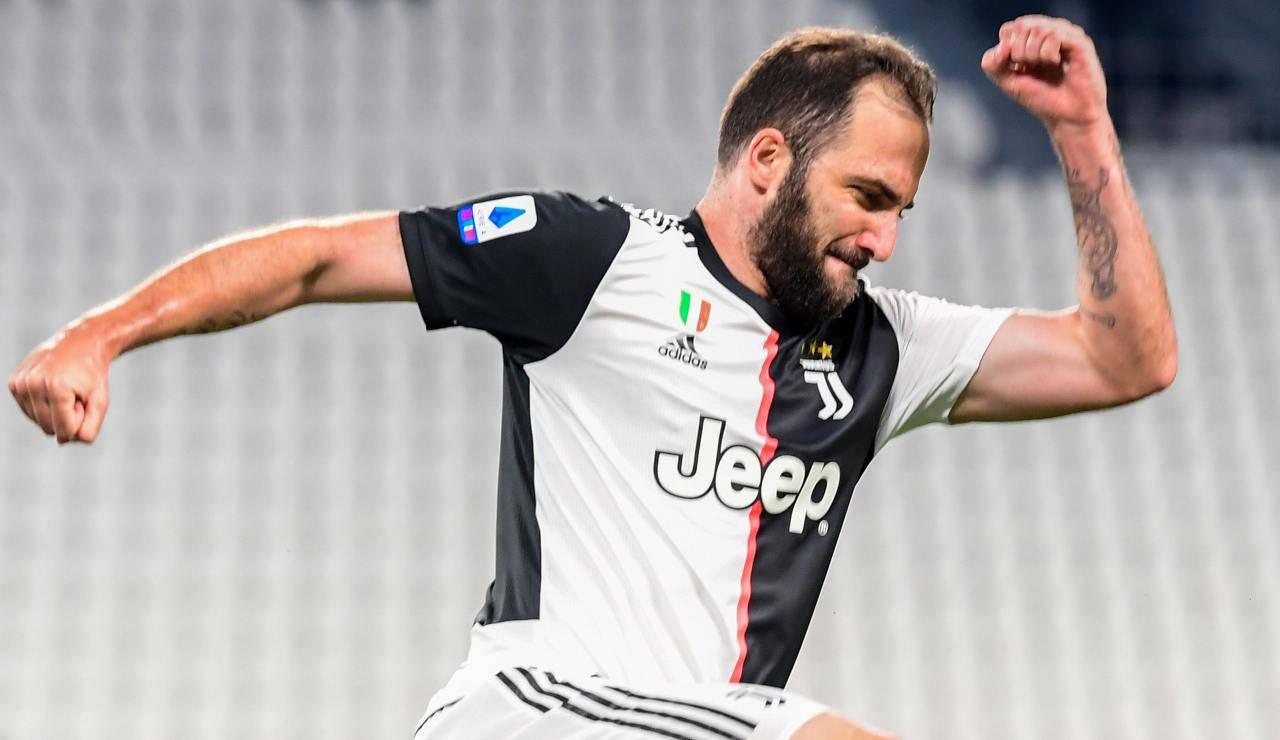 Juventus Higuain Sarri